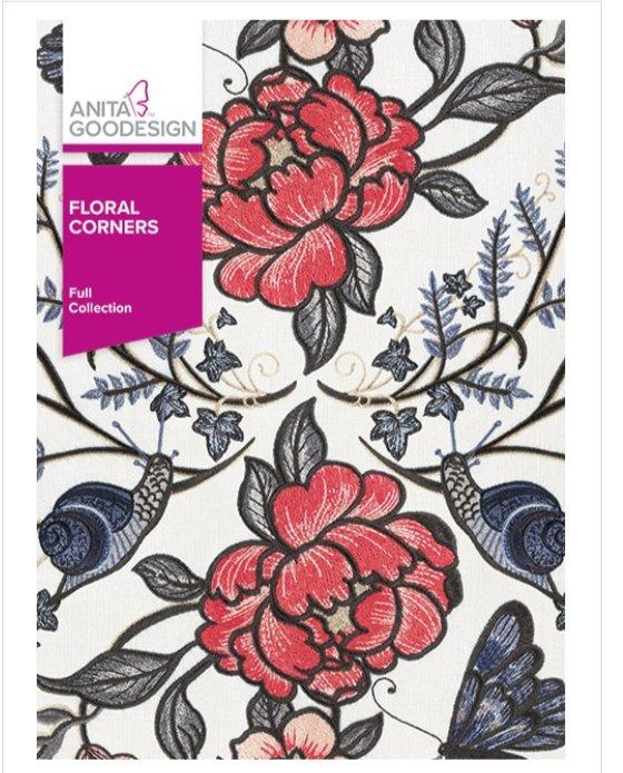 Floral Corners - Anita Goodesign Full Collection