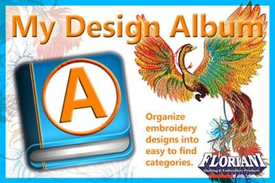 My Design Album - Embroidery Software - Floriani