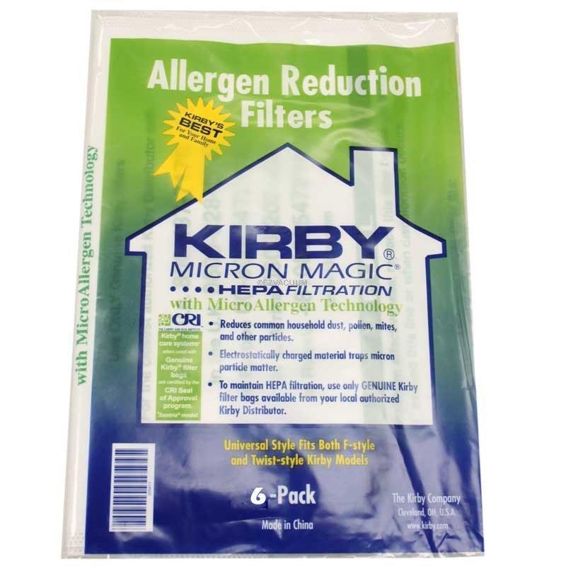 BAGS - KIRBY - UNIV  -  FILTRETE 2pkg