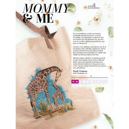 Mommy & Me - Anita Goodesign Full Collection