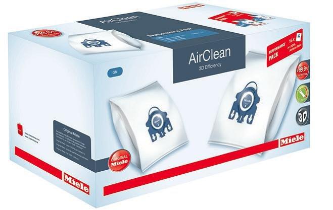 BAGS - MIELE - PERF PACK G/N + HA50 Filter - C3 & C2 series