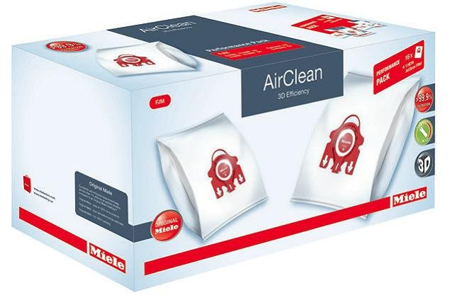 BAGS - MIELE - PERF PACK - FJM + HA50 Filter - Compact C1 & C2, S4000, S6000