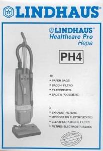 BAGS - LINDHAUS PH4 - 10pk Fits HealthPro Series