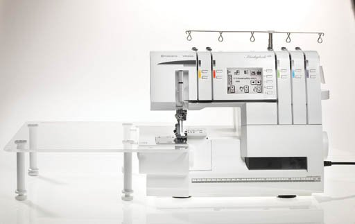 SERGER - Viking - Huskylock S25  - 4thread - cover stitch  touch screen