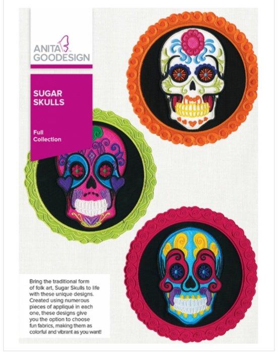 Sugar Skull - Anita Goodesign Full Collection