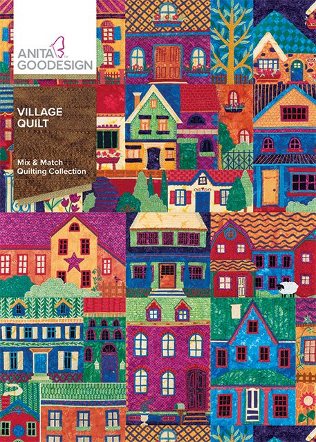 Village Quilt - Anita Goodesign Full Collection