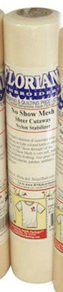 STABILIZER - FLORIANI - NO SHOW MESH WHITE - 12 x 10 yds