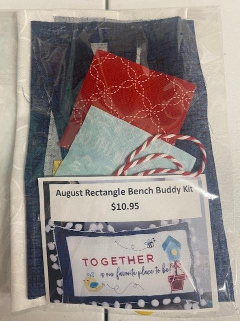 August Rectangle Fabric Kit Bench Buddy