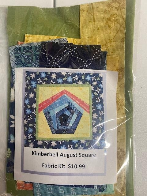 August Square Fabric Kit Bench Buddy