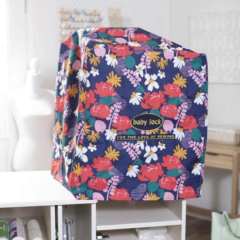 Babylock Floral Dust Cover for 6 Needle Machines