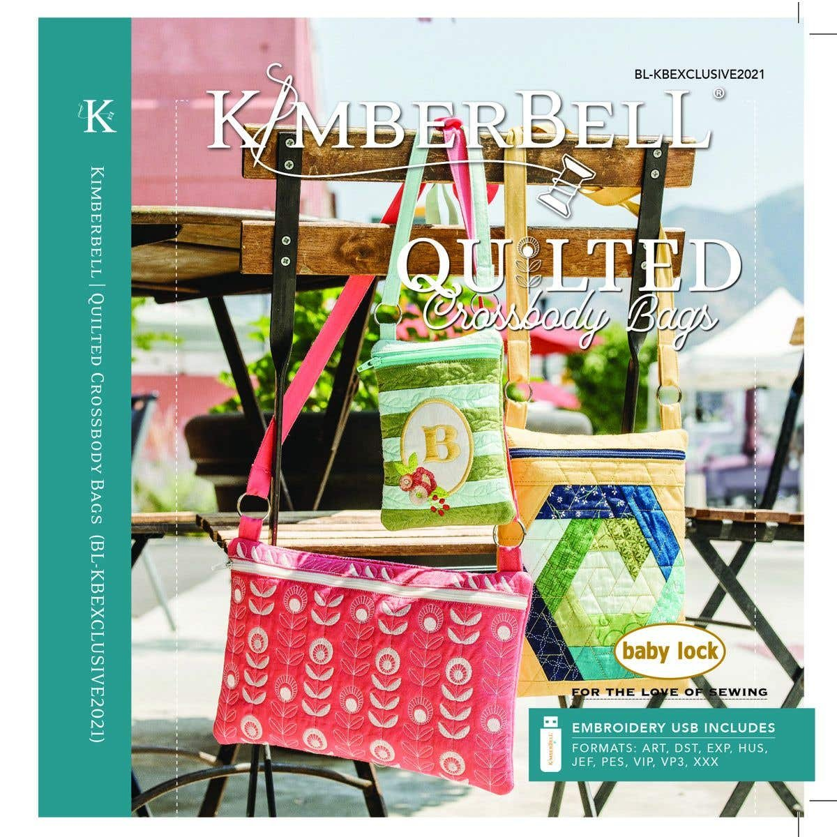 KimberBell BabyLock Exclusive Bag Project 2021