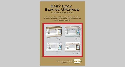Babylock Sewing Upgrade - BLTYU2