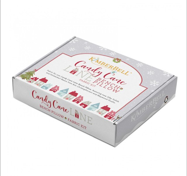 Kimberbell Candy Cane Lane Fabric Kit
