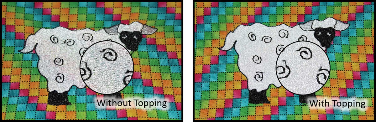 Floriani Color Keep Topping 54 x 1yd