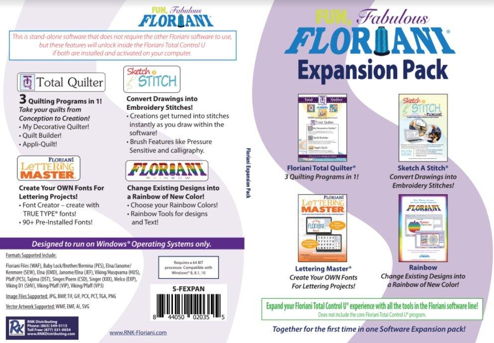 Floriani Expansion Software Bundle