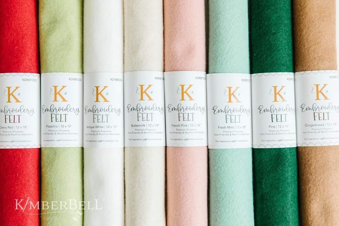 Kimberbell Embroidery Felt