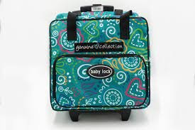 Genuine Collection Vibrant Serger Tote Bag with Wheels
