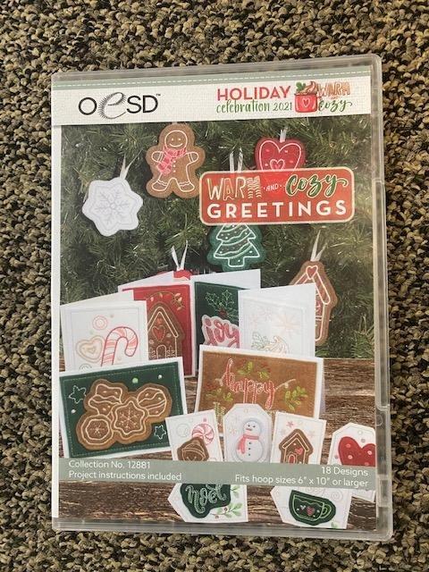 Holiday Celebration 2021 Warm & Cozy Greetings- OESD
