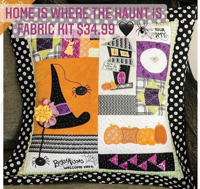 Home Is Where the Haunt Is Pillow Kit