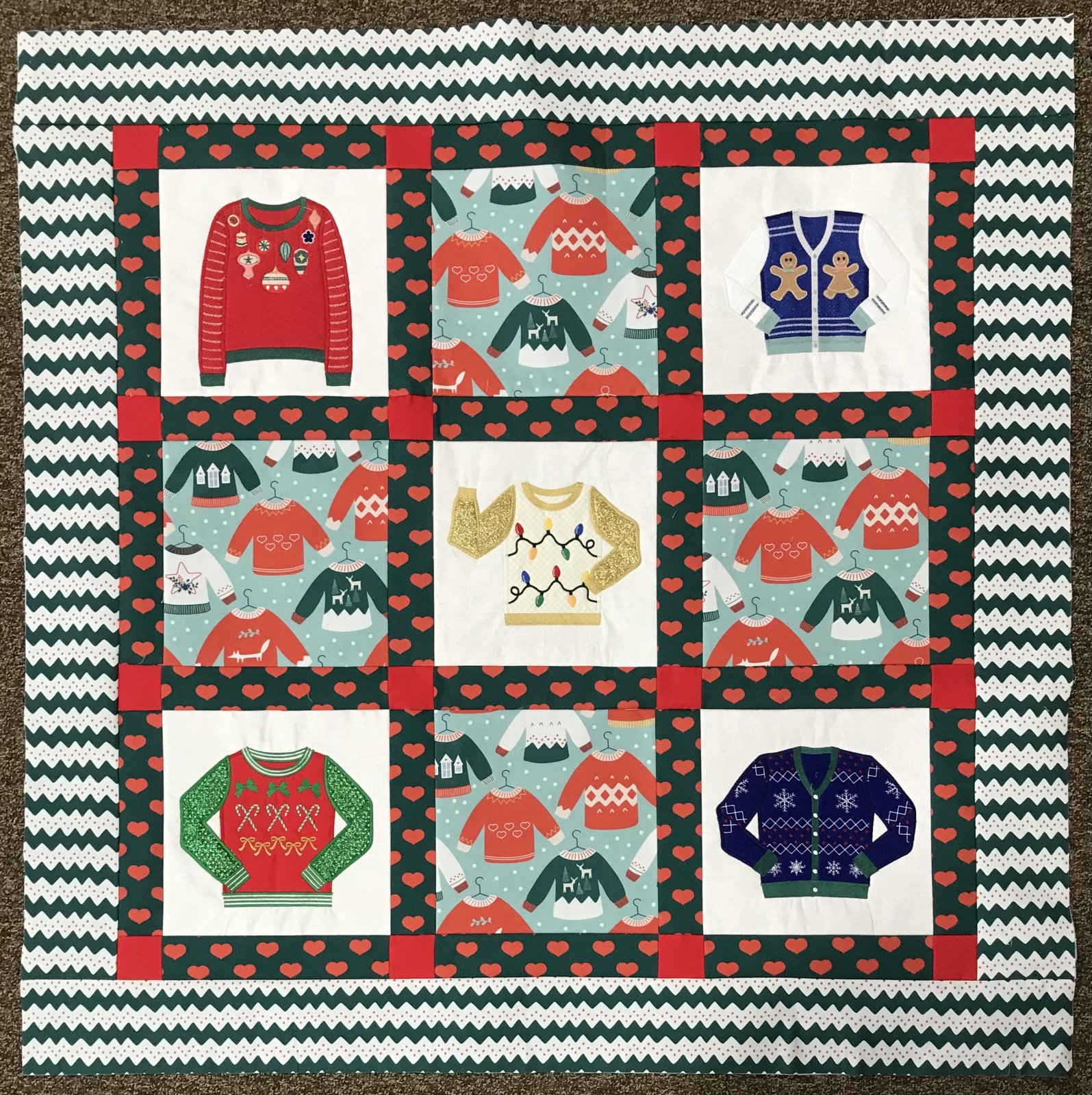 Ugly Sweater Fabric kit