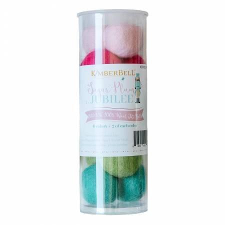 KimberBell Sugar Plum Wool Felt Balls