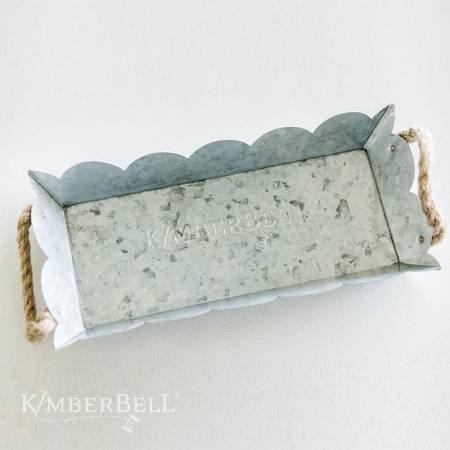 Kimberbell Scalloped Metal  Tray