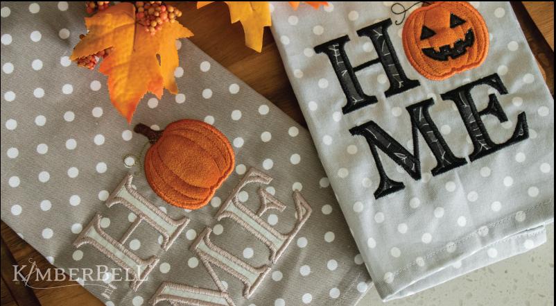 FITB - October 2021 - Pumpkin Tea Towel
