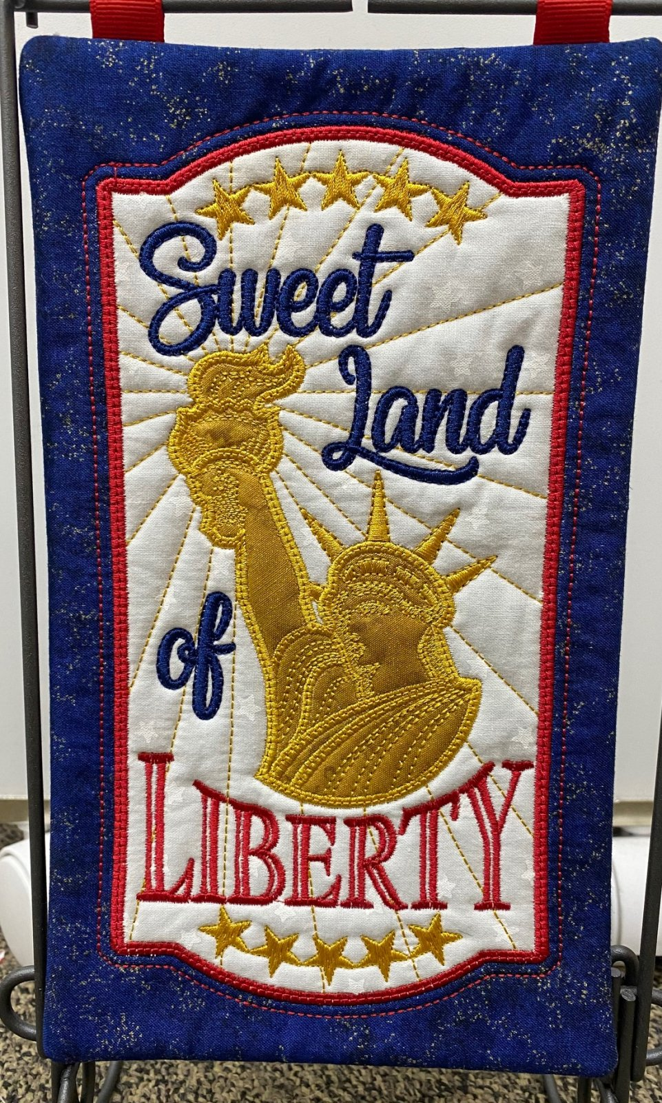 Sweet Land of Liberty Fabric Kit