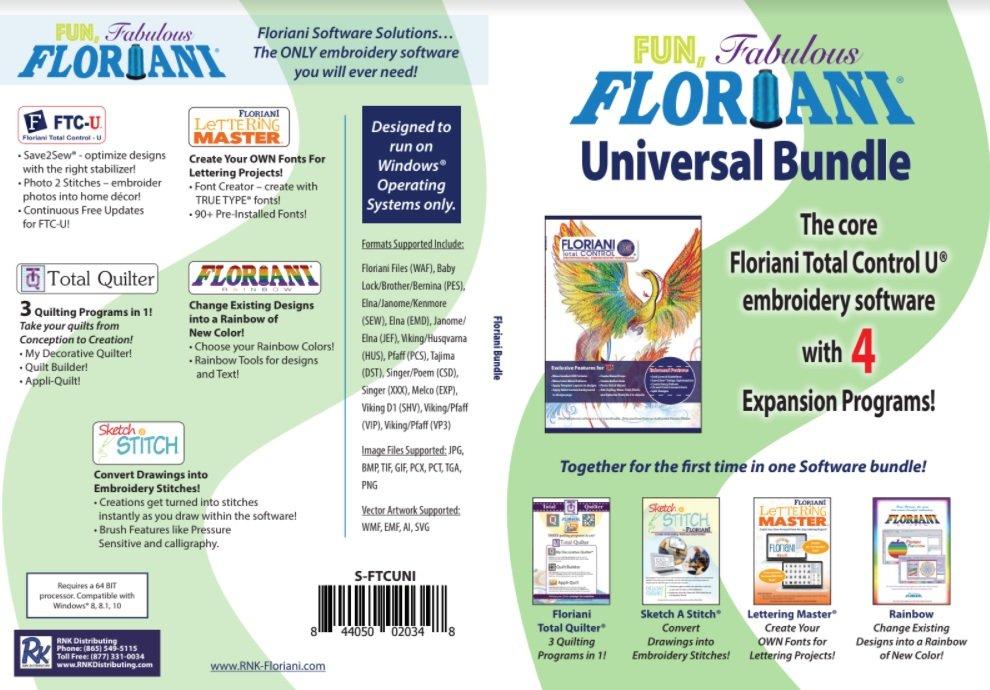 Floriani Universal Software Bundle