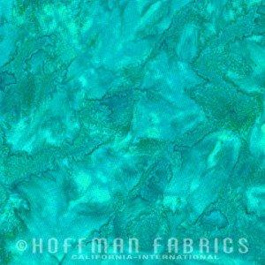 Hoffman Watercolor Batiks - Betta Fish