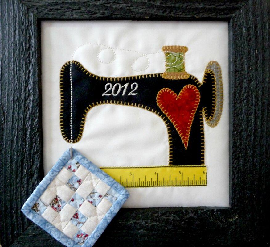 2012 Shop Hop Sewing Machine Pattern