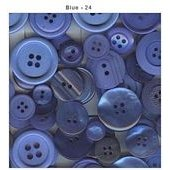 Button Bonanza - Blue
