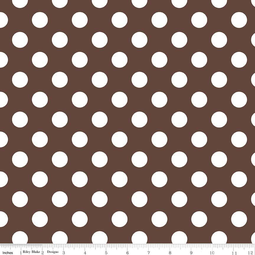 Medium Dot - Brown