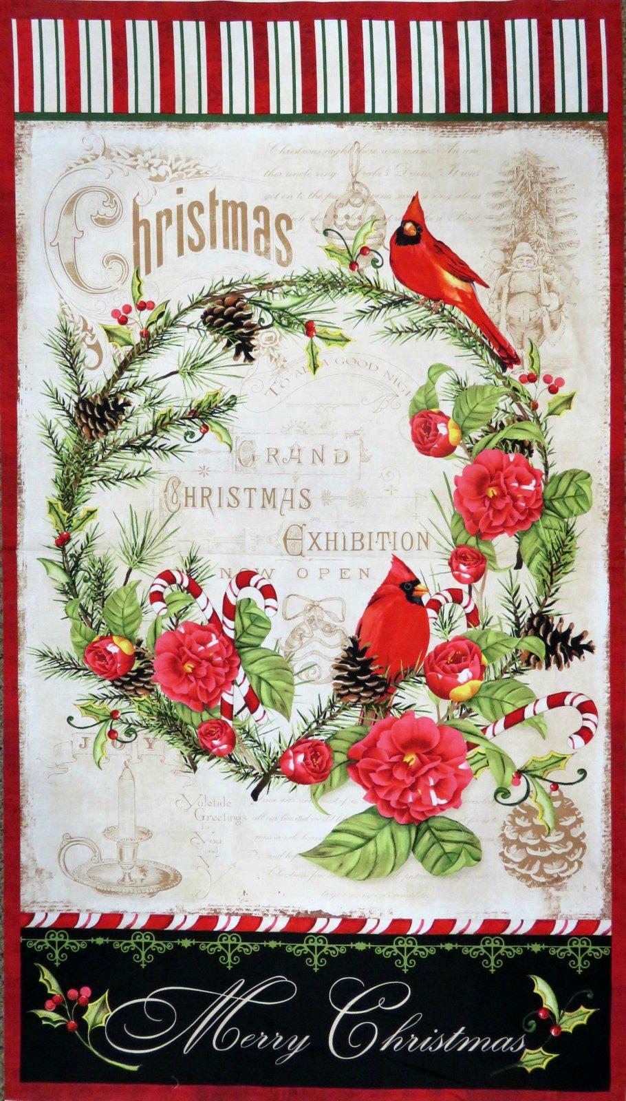 Christmas in the Wildwood Panel