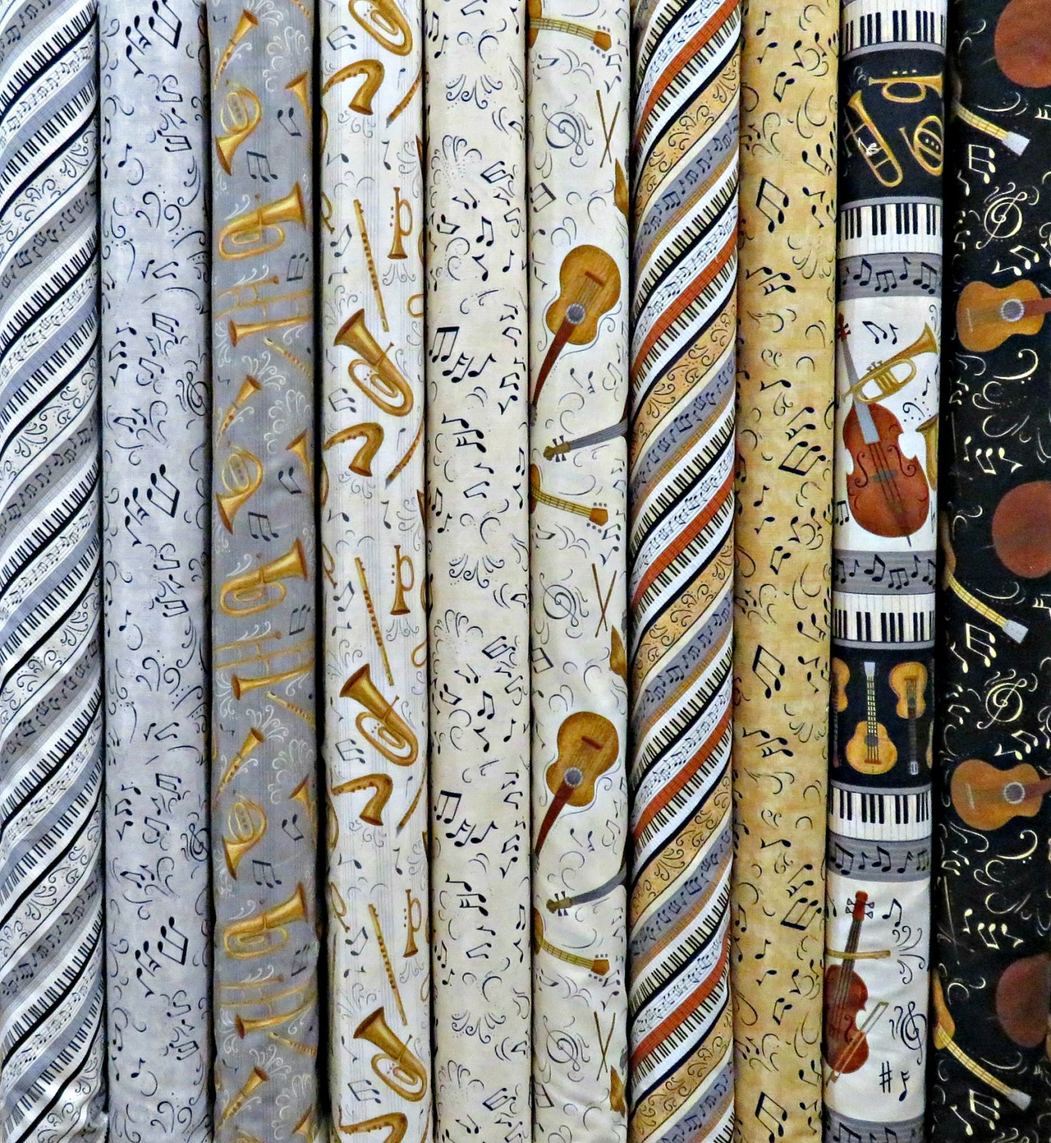 Classically Trained - 10 Fat Quarters