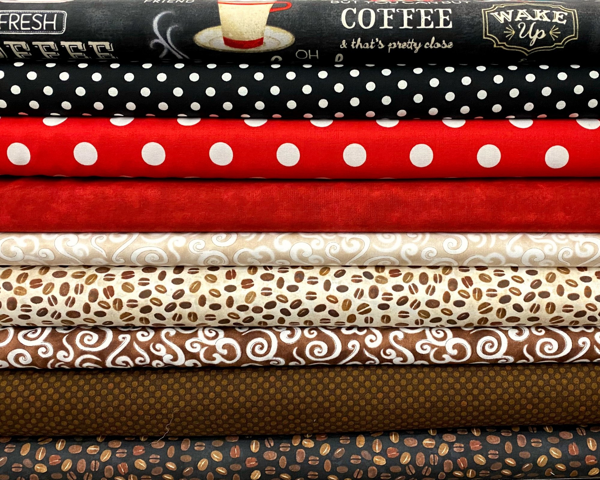 Coffee Time - 9 Fat Quarters