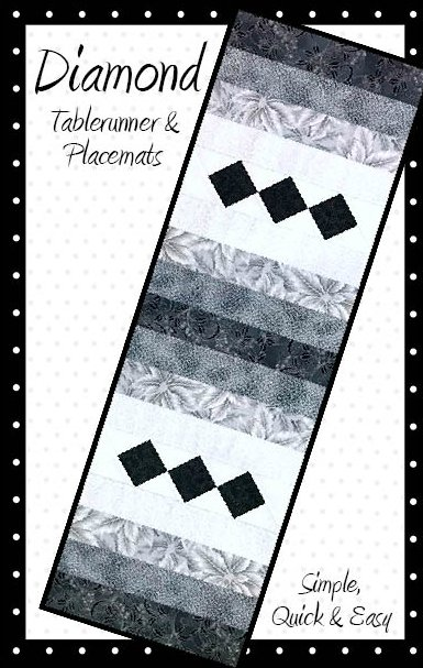 Diamond Tablerunner Pattern