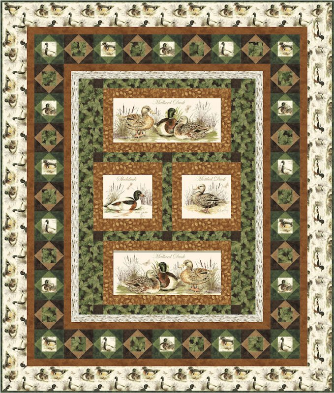 Duck Hunt Quilt Pattern : hunting quilts - Adamdwight.com