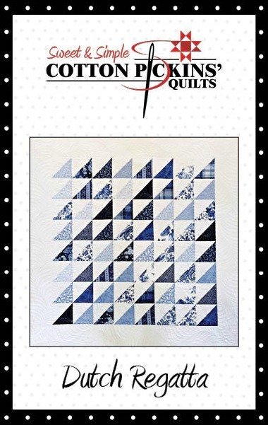 Dutch Regatta Quilt Pattern - Digital Download