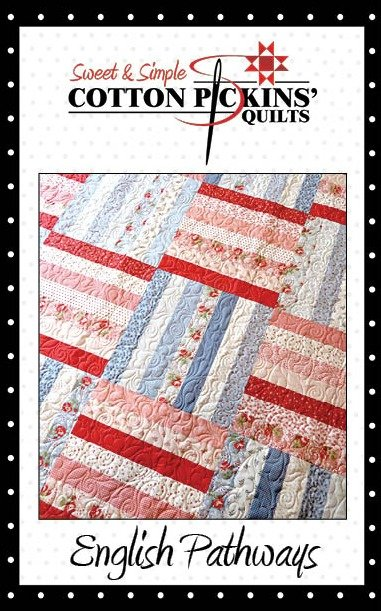 English Pathways Quilt Pattern