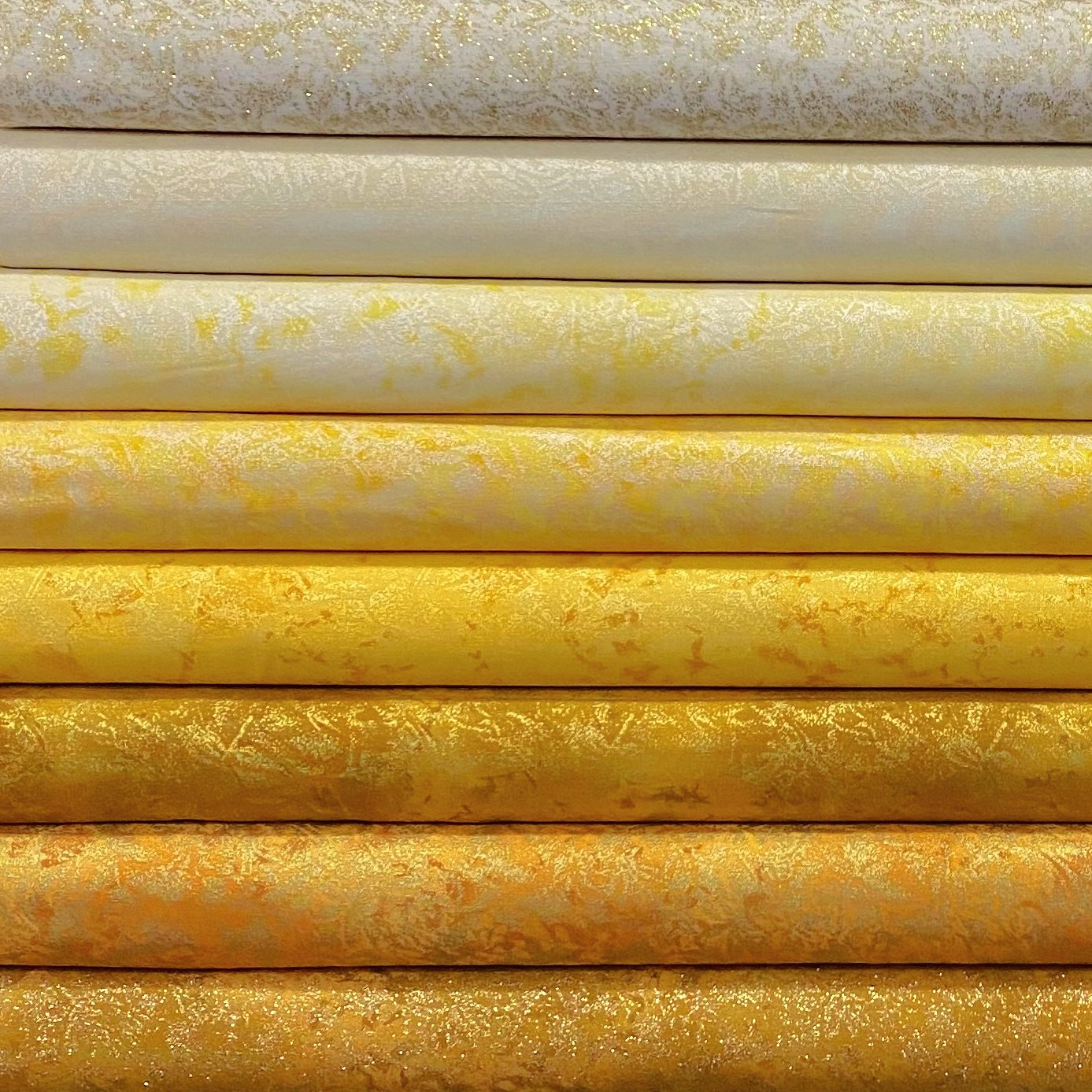 Fairy Frost Yellow/Golds - 8 FQ's