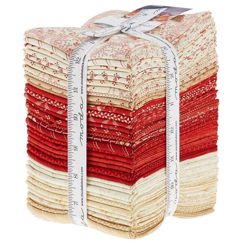 Farmhouse Reds Fat Quarters - 35 FQ's