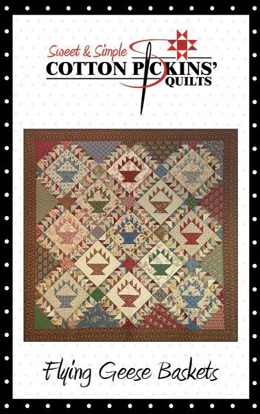 Flying Geese Basket Quilt Pattern