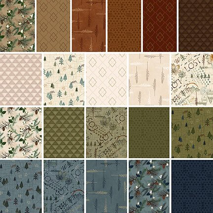 Folk Art Flannel IV - 21 Fat Quarters