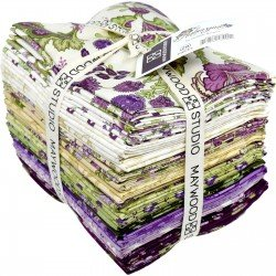 Aubergine Fat Quarters - 30 FQ's