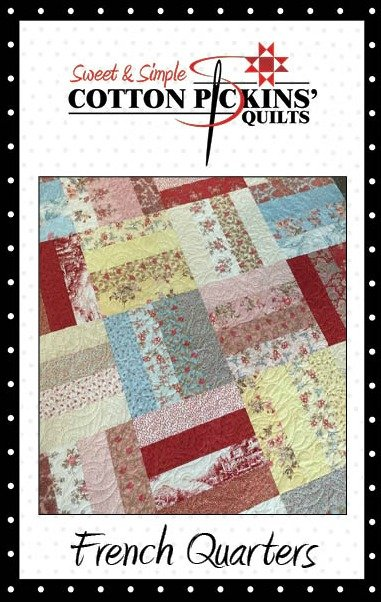 French Quarters Quilt Pattern