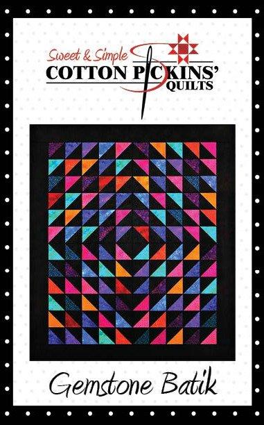 Gemstone Batik Quilt Pattern