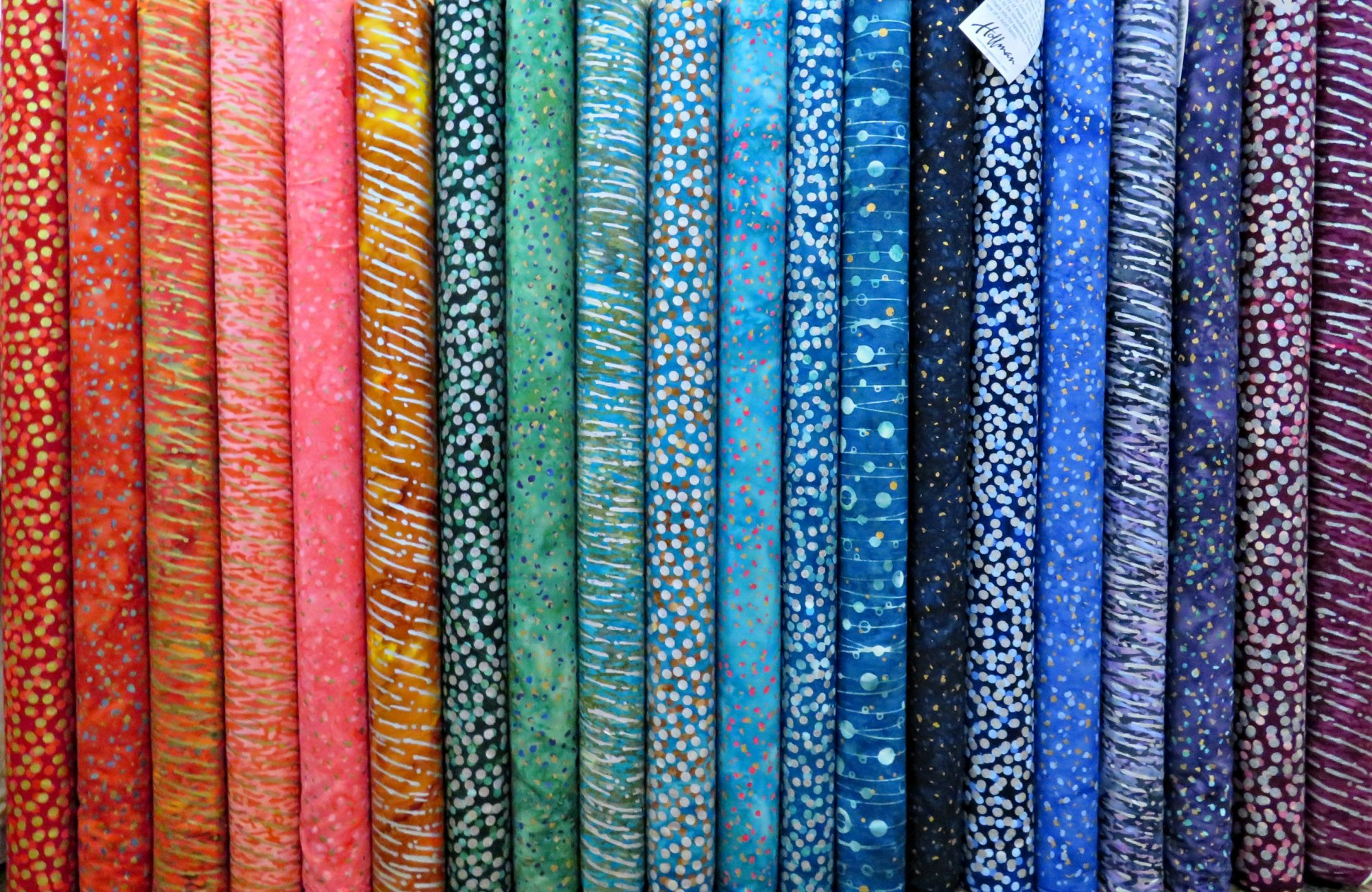 Gemstone Batiks Fat Quarters - 20 FQ's