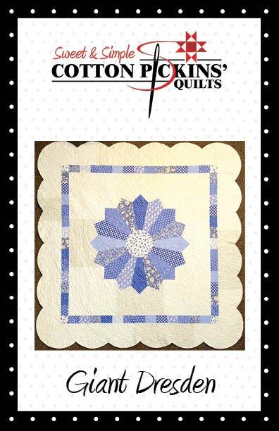 Giant Dresden Quilt Pattern