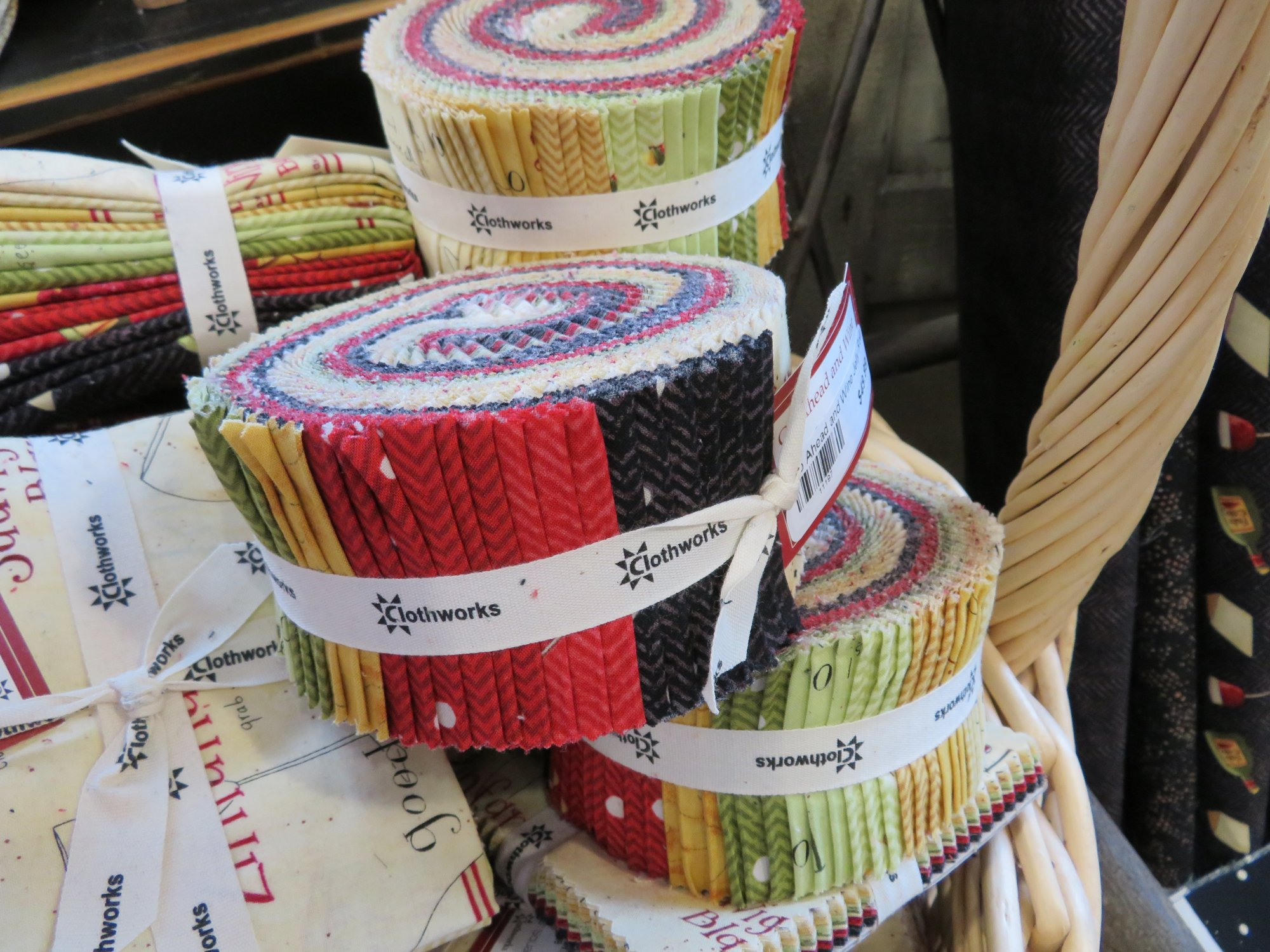 Go Ahead and Wine Jelly Roll